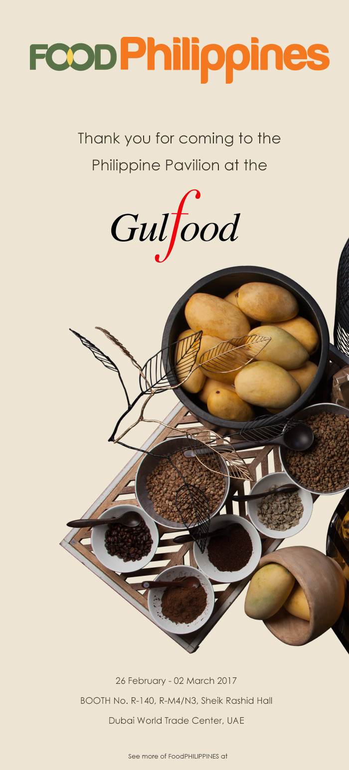 Gulfood 2017 exhibitor list pdf